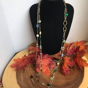 Lia Sophia Layering Beaded Necklace